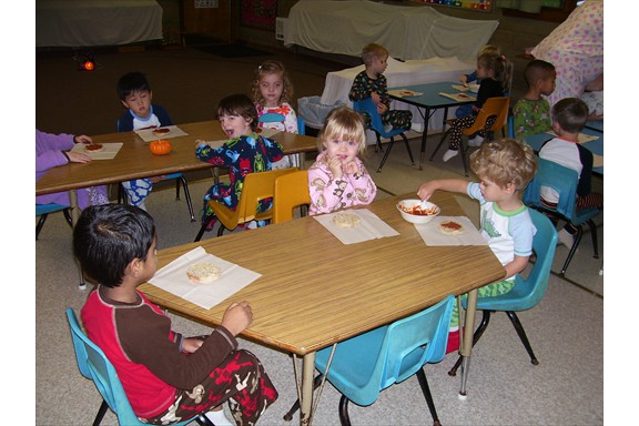 Halloween - Preschool pajama party