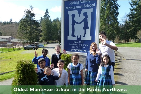 Montessori Academy is located on Pacific Hwy South