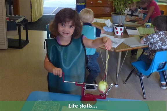 Preschool: Students learn life skills