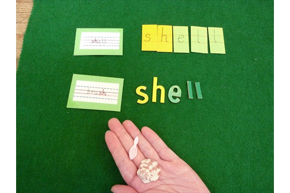 Language - Spelling the sh phonogram